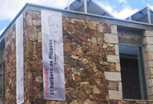 La salle d'exposition de Buitrago